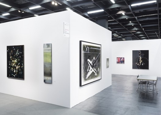 Galerie Rüdiger Schöttle, Hall 11.2 / Stand D 11 is presenting works by Jānis Avotiņš, Stephan Balkenhol, Thomas Ruff, Elif Saydam, Chen Wei and Sophie Reinhold in the NEW POSITIONS, Art Cologne's special solo-presentation platform. (Photo: Nicola Morittu)