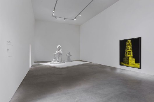 """董金玲,""""一匹马的纯洁"""",德萨画廊,展览现场,2018"""