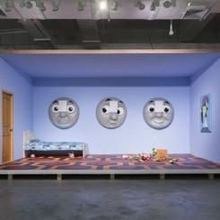 "HOME ALONe, Lu Pingyuan, 2017, Exhbition view ""成长的烦恼"",陆平原,2017,展览现场"