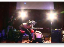 Arong Violence Against a Violent Musician 2015 screenshot. photo courtesy of the artist