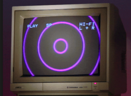 An old CRT monitor