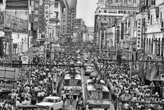 Title: Nanjing Road Location: Shanghai Shot: 1988