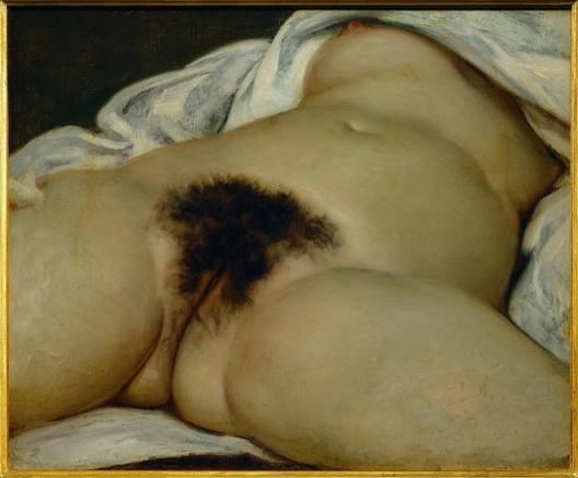 Gustave Courbet: L´origine du monde, 1866古斯塔夫·库尔贝,《世界的起源》,1866