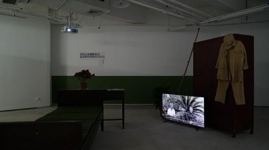 《后方》鲍大宸+董勋+吴剑平,录像装置,2018