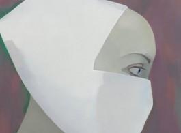 Sestřička III / Nurse III, 2018 oil on canvas 260 x 230 cm