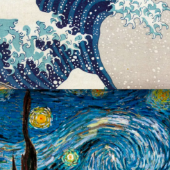 Hokusa Van Goch Cookie Monster Storm