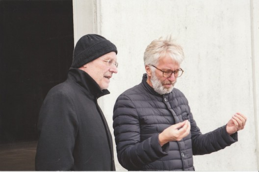 Anselm Kiefer and Jens discuss upcoming show.
