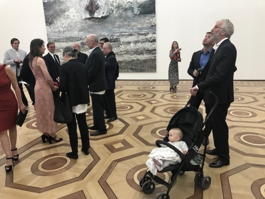 Jens with his daughter Tasha at the opening of Anselm Kiefer's exhibition at Hermitage 2017