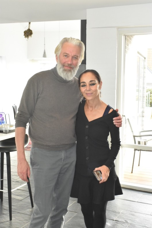 Shirin Neshat and Jens in Denmark 2018