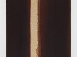 Yun Hyong-keun Burnt Umber & Ultramarine, 1993 Oil on linen 90.8 x 73 cm (35 3/4 x 28 3/4 in.)