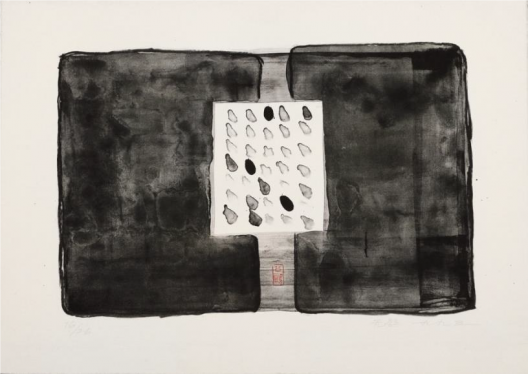 Untitled No.2, Lithograph, 50.5 x 66 cm (20 1/2 x 26 in), 1993