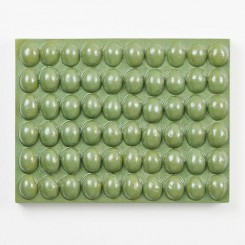 Mai-Thu Perret, Actually know your own mind, 2016, Glazed ceramic, 37 x 48 x 7 cm(14 5/8 x 18 7/8 x 2 3/4 in.)