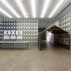 张玥:山鹰之歌,展览现场,杨画廊,2018