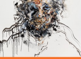 海报 Maggi Hambling_Exhibition Poster