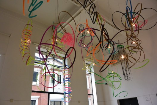 Infinity ribbons. Image courtesy the artist and Rockbund Art Museum  (photo Chris Moore)