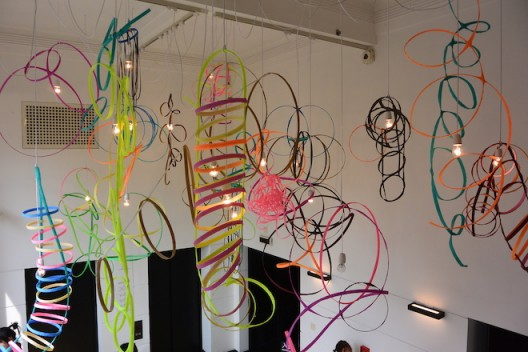 Air squiggles. Image courtesy the artist and Rockbund Art Museum  (photo Chris Moore)