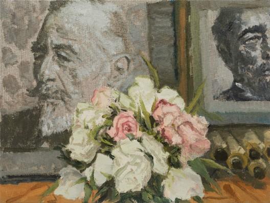 Ni Jun 倪军 Conrad 康拉德, 2019 Oil on canvas 布面油画 60 × 80 cm