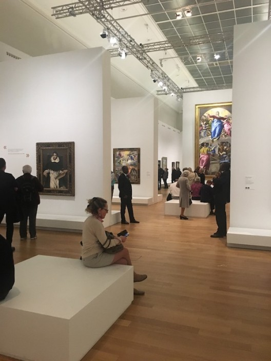 El Greco installation WechatIMG1147