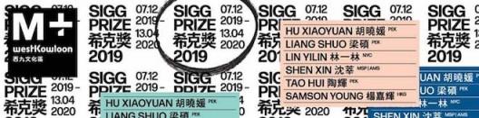 M+ Sigg Prize 2020