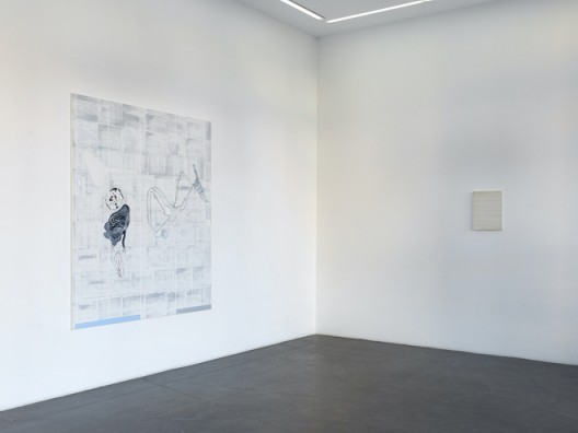 Installation View Ji Dachun: Rain in rain, cloud in cloud, at no one's fingertips. Galerie Nagel Draxler Berlin 2020 (photo Simon Vogel.  Courtesy the artist and Galerie Nagel Draxler Berlin/ Cologne/ Munich)
