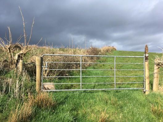 A gate © Claire Kerr 2020