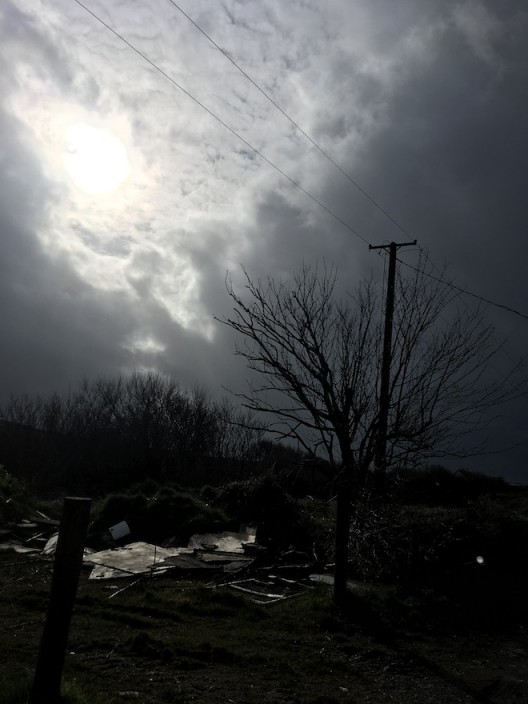 Stormy sky © Claire Kerr 2020