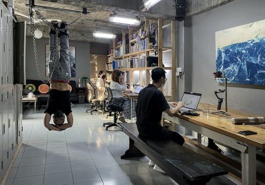 Wu Chi-Tsung's studio in Taipei