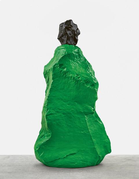 Ugo Rondinone, black and green nun, 2020 Photo by Stefan Altenburger