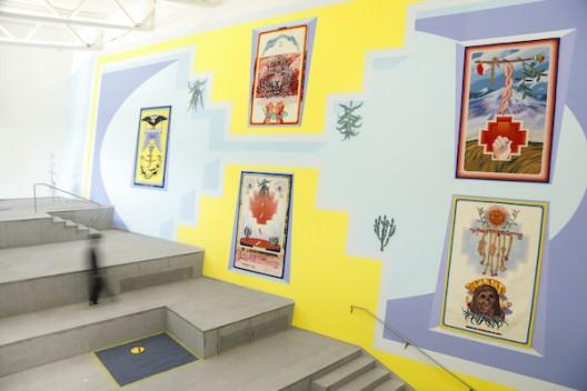 """克劳迪娅·马丁内斯·加拉伊作品,""""灵与景""""展览现场,四方当代美术馆 work by Claudia Martínez Garay, installation view at 'Ten Thousand Things', Sifang Art Museum, Nanjing"""