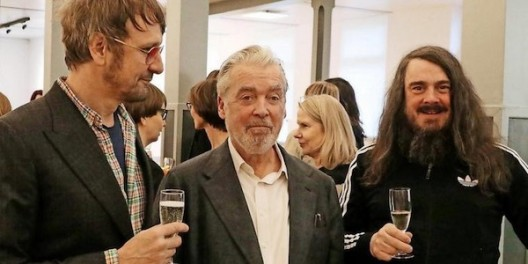 Daniel Richter, Werner Buettner and Jonathan Meese 2020