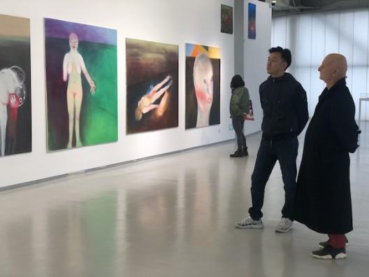 Sifang Art Museum founder Lu Xun with Dr Uli Sigg