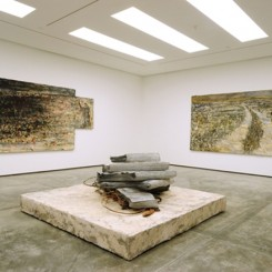 """Exhibition view of Anselm Kiefer's """"Let a Thousand Flowers Bloom"""" at White Cube Hong Kong (© the artist; photo courtesy of White Cube)"""