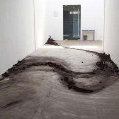 Shi Jinsong installation at OV Gallery
