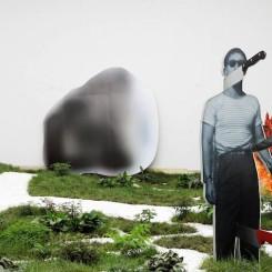 "Xu Zhen, produced by MadeIn company,""Movement Field,""installation view, 2013 徐震, 没顶公司出品,""运动场"",展览现场, 2013"