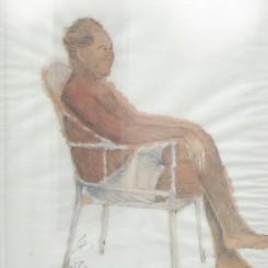 "Wu Junyong, ""Chairman Mao,"" acrylic on canvas, 48 × 32.8 cm, 2008吴俊勇,《毛主席》,布面丙烯,2008"