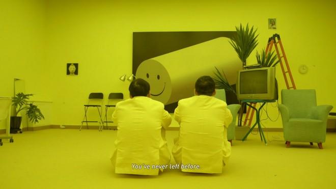 """Chen Zhou, """"I'm not not not Chen Zhou"""", HD digital film, colour, sound, 34 mins, 2013 (courtesy the artist and Magician Space). 陈轴,《他不不不是陈轴》,HD数字电影,色彩、声音,34分钟,2013(版权:艺术家及魔金石空间)"""