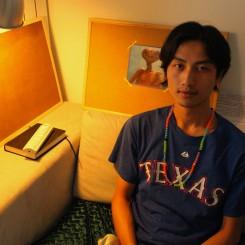 Chen Zhou at his home in Beijing, June 2013. 陈轴于北京家中,2013年6月