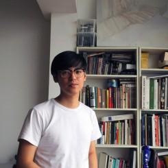 Li Ran at his home in Beijing, June 2013. 李然在其北京的家中,2013年6月。