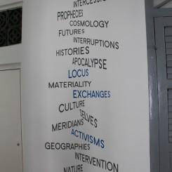 2013 Singapore Biennale buzzwords, as chosen by the curators.