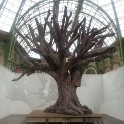 """Ai Weiwei """"Iron tree""""  2013, available at neugerriemschneider, berlin randian 燃点 randian-online.com"""