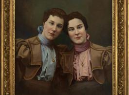 "Hans-Peter Feldmann, ""Untitled,"" Oil on canvas, 42 1/2 × 37 in, 108 × 94 cm"