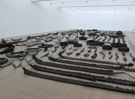 """A view of """"Chicotes"""" at Faurschou Foundation"""