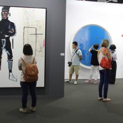 The Van der Weghe gallery booth at Art Basel Hong Kong 2013