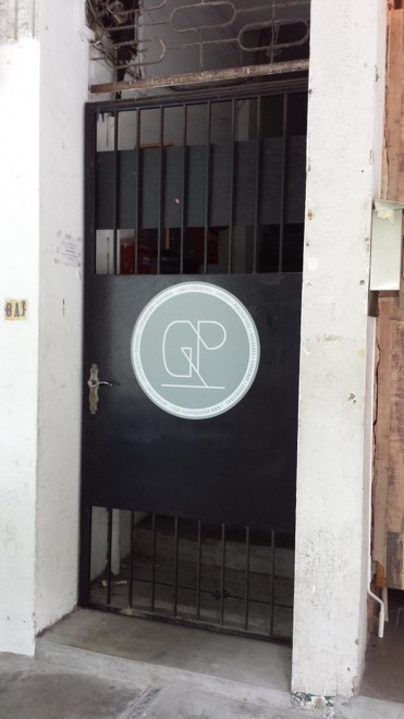 Grey Projects entrance