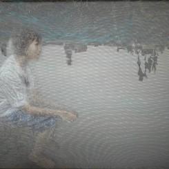 "Uttaporn Nimmalaikaew ""Ambiguous Space"" 2013, mixed media, 150 x 200 x 25cm (image courtesy the artist and Yavuz Fine Art)"