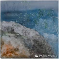 Li Rui, The Fragrance, Light and Delicate, 150cm×150cm, Oil on Canvas, 2012. 李瑞,《淡淡清香,清幽幽》,150cm×150cm,布面油画,2012