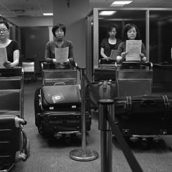 "Chen Chieh-jen, ""Empire's Borders 1"", 35 mm transferred to DVD, colour & b/w, sound, single-channel, continuous loop, documentation, 26'50'', 2009-2009陈界仁,《帝国边界1》,35毫米胶片转DVD,彩色&黑白,有声,单频道录影,循环放映,相关文件,26分50秒,2008-2009"
