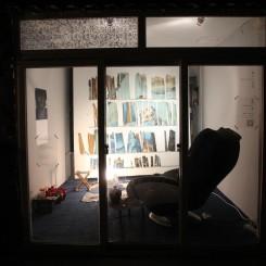 """Go Jian Quest: Wei-Li Yeh, Li Mo and Kong"", exhibition view, Arrow Factory 勾践•考 叶伟立, 李墨+小孔, 展览场景, 箭厂空间"
