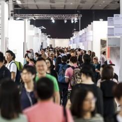 Art Basel on May 15, 2014 at the Hong Kong Convention and Exhibition Centre in Hong Kong, China. (Photo by Xaume Olleros / Art Basel)