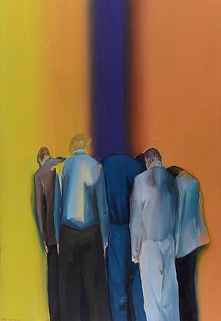世界和其他地方 World and Other Places 布面油画 Oil on Canvas, 130cmx90cm, 2013